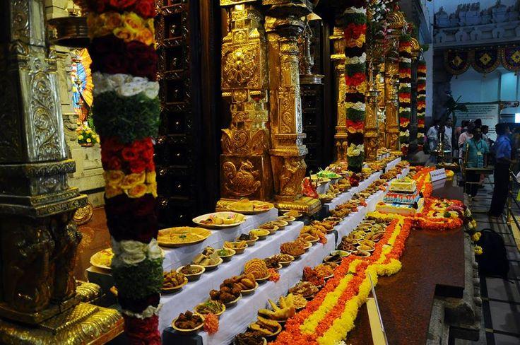 108 Bhog offered to Sri Sri Radha Krishna Chandra
