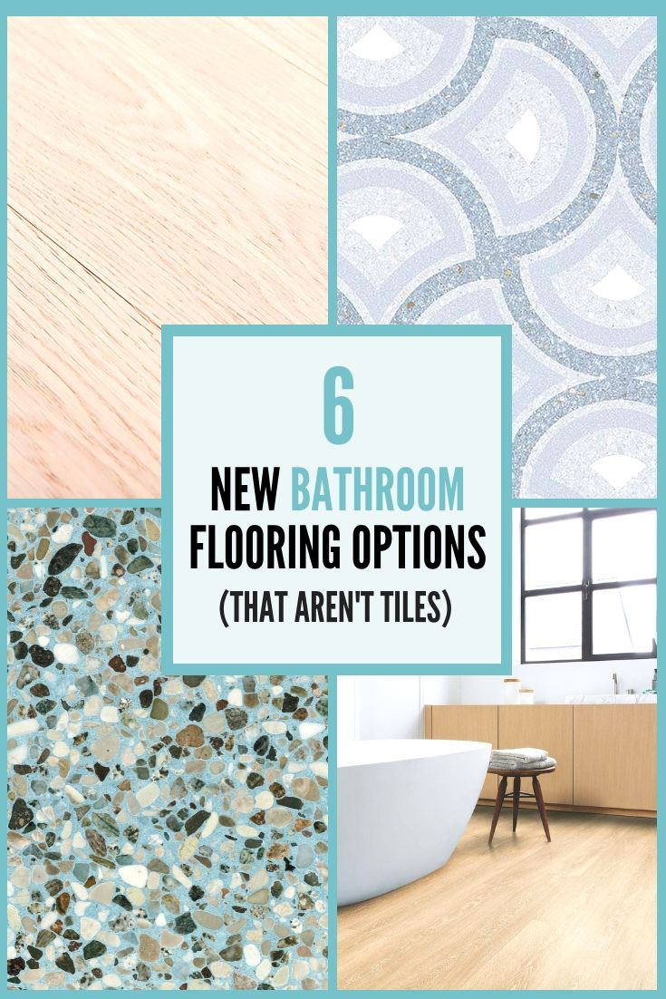 6 of the latest bathroom flooring options | Renovating tips and ...