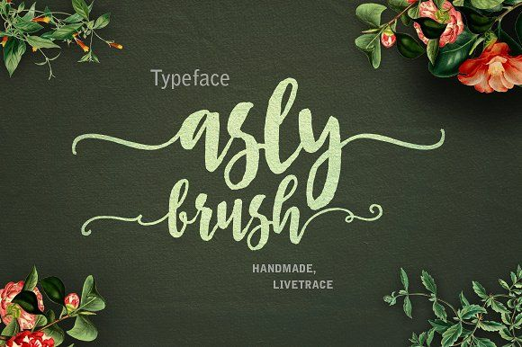 Asly Brush 30% off by artisans on @creativemarket