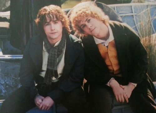 Billy Boyd and Dominic Monaghan