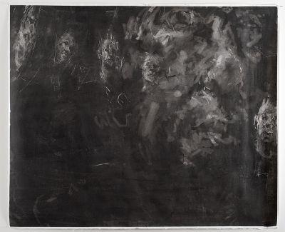 nova / ego (?) / ergo charcoal on paper, 2013 1410 x 1720 mm