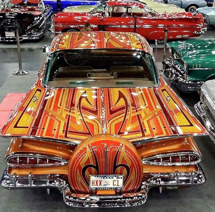 1000 images about lowrider paint on pinterest chevy for Car painting school