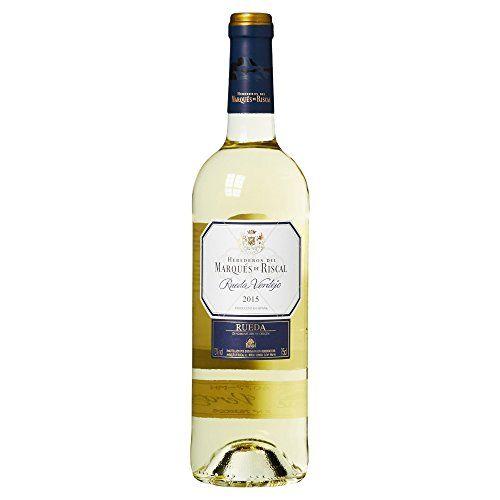 Marques De Riscal Verdejo - Vino Blanco Botella 0.75 L #Marques #Riscal #Verdejo #Vino #Blanco #Botella