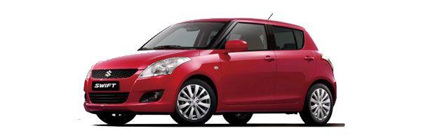 Group D - Suzuki Swift:1300cc, automatic, 5 seats, 5 doors, A/C, radio, CD player - Automatic car rentals in Paros