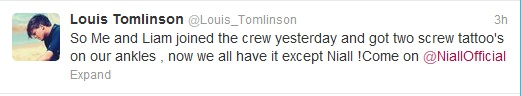 TATTOO DIRECTION! LOL. now all we need is niall.