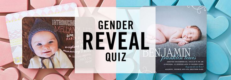 Baby Gender Predictor Quiz - Are You Having a Boy or Girl? | Tiny Prints