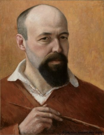 HUGO SIMBERG  Self-Portrait (1914)