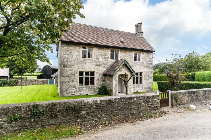 This stone farmhouse isn't the only historical structure you'll find on this 24-acre Bristol property, which could have been plucked right out of our dreams. The numerous outbuildings include a charming two-bedroom cottage, where your overseas guests can stay when they're itching for a taste of the good life.