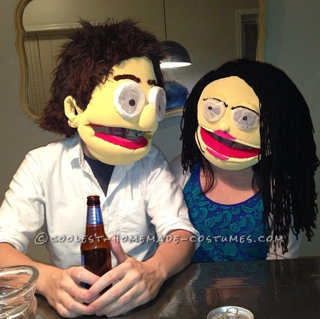 how to make a janice the muppet costume