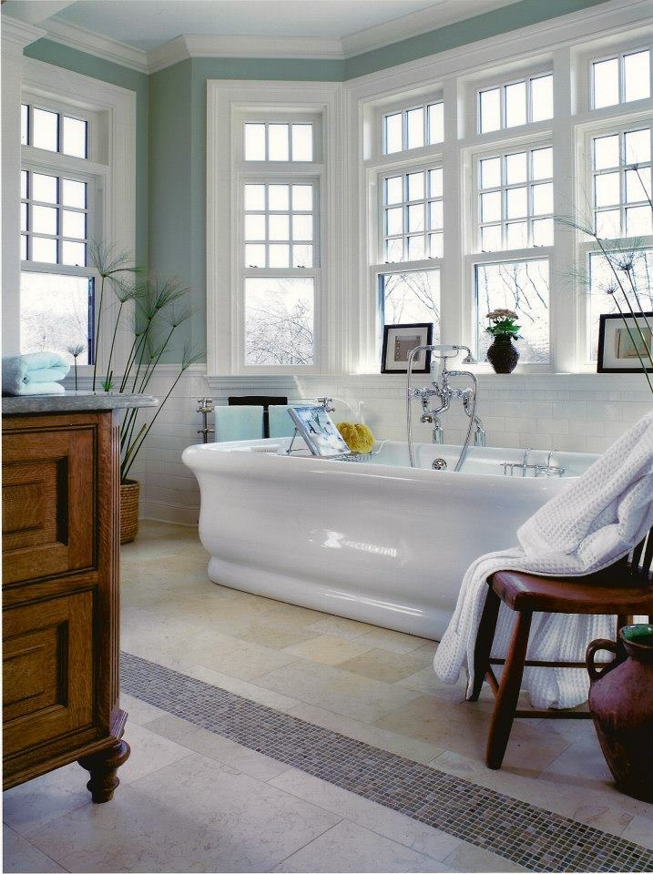 Calming Colored Bathroom Designer Peter Salerno Located In Wyckoff New Jersey