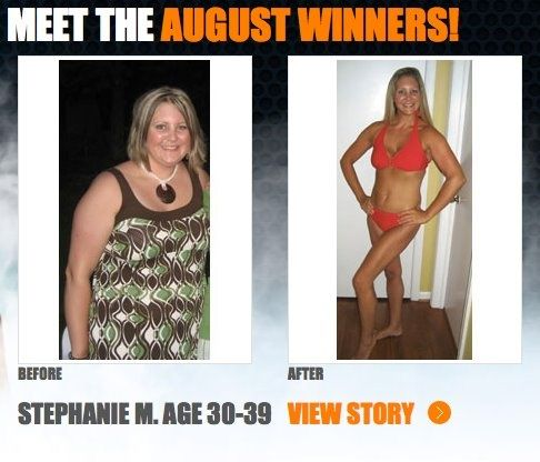 """How you can do it too!  Stephanie lost 87 lbs and 9"""" off her hips with ."""