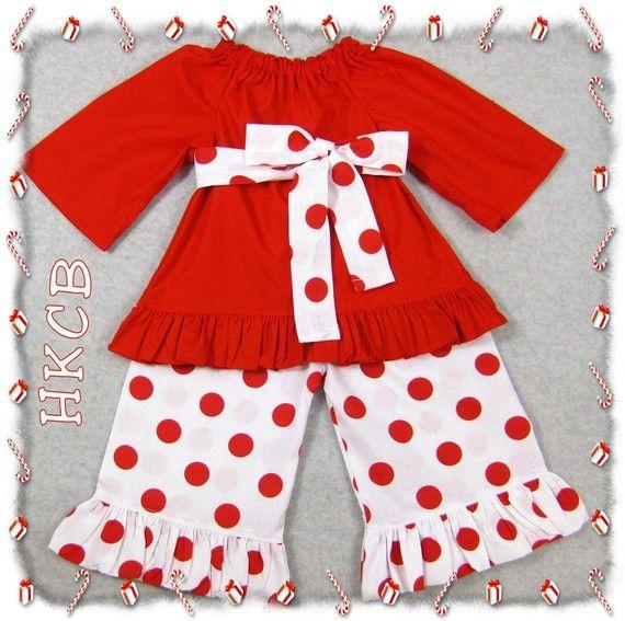 Custom Boutique Clothing Christmas Red by ZamakerrClothingCo, $39.99
