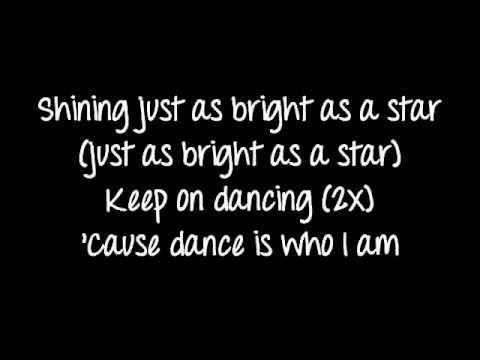 Barbie movie song: Keep on dancing lyrics on screen