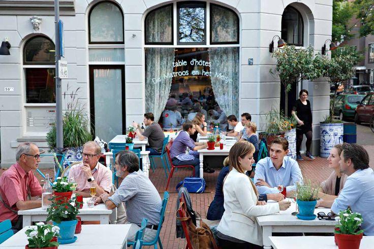 Restaurant De Matroos en het Meisje in Katendrecht, Rotterdam