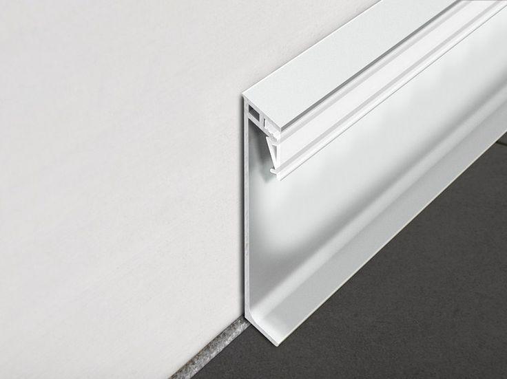 Plinta din aluminiu cu leduri: Proskirting Giled