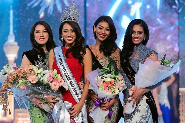 Vanessa Tevi Kumares Crowned Miss Universe Malaysia 2015