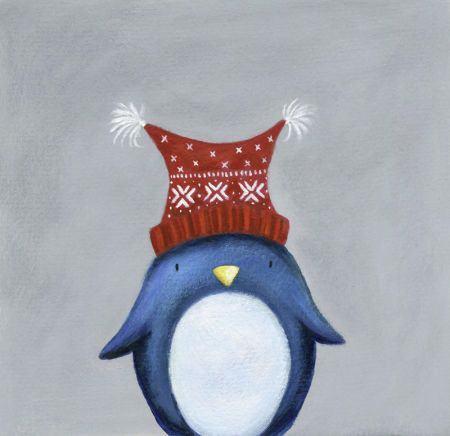 Ileana Oakley - Christmas Penguin Woolly Hat