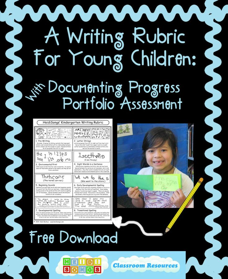 Assessments for Young Children