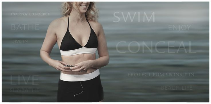 bikinis with pockets to make it easy to carry your insulin pump, for all. Find them on http://www.annaps.com