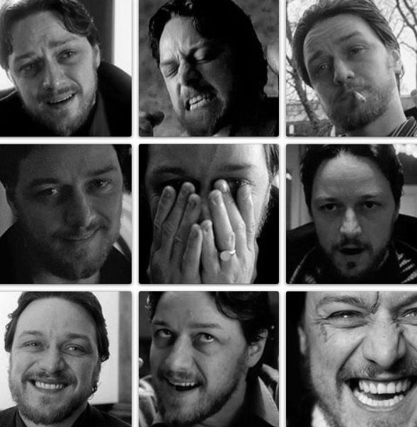 The many faces of James McAvoy in Filth