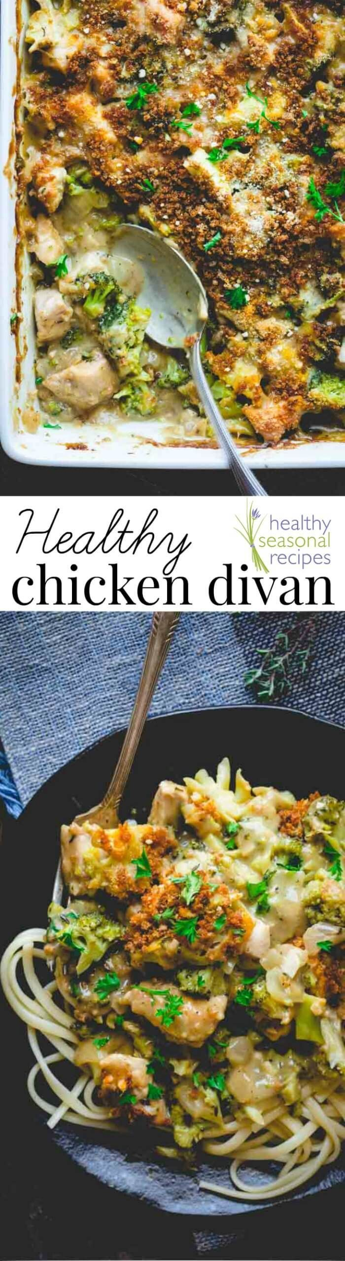Blog post at Healthy Seasonal Recipes :  Have you noticed that I am really getting into a groove here with these comfort food make-overs? Today I made Chicken Divan- about 100,006[..]
