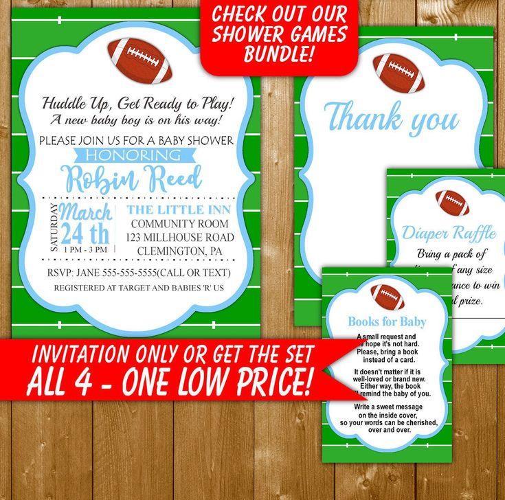 Best 25+ Football invitations ideas on Pinterest Football party - how to make invitations on word