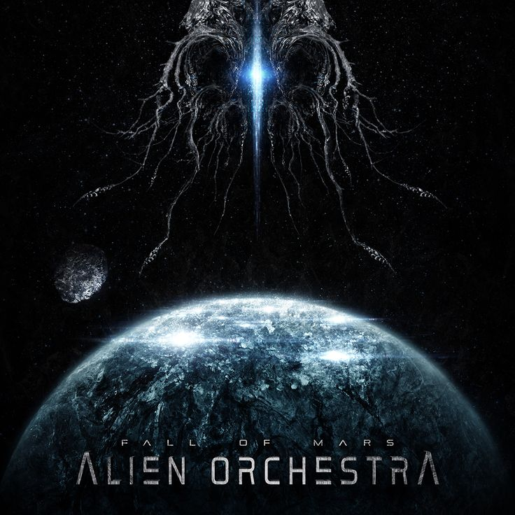 upcoming Alien Orchestra EP 'Fall Of Mars'