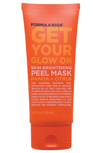 This mask is made to be peeled off — and take dead skin cells and excess sebum with it.Formula 10.0.6 Get Your Glow On Skin-Brightening Peel Mask, $7, available at CVS. #refinery29 http://www.refinery29.com/cvs-new-beauty-launches-2017#slide-38