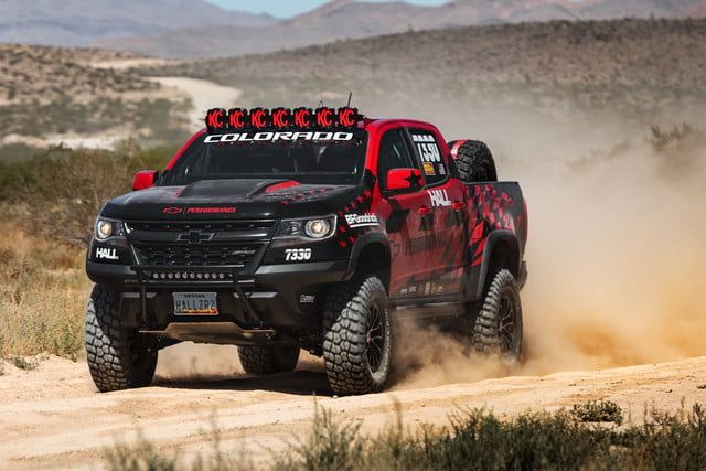 Chevrolet Colorado Zr2 Off Road Racer With Images Chevrolet