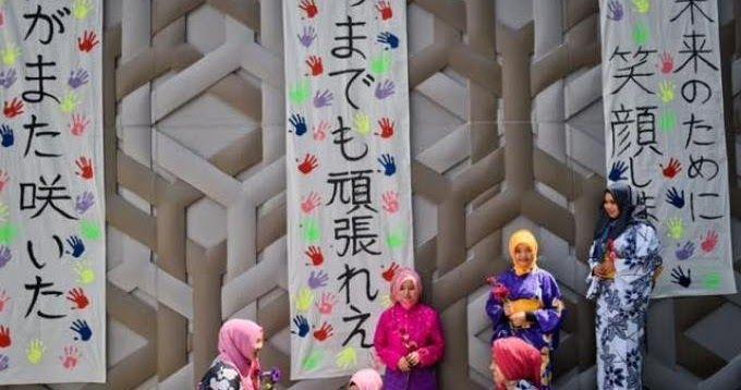 Muslimah-muslimah Aceh ini Berhijab Model Kimono, Wow Cantiknya Luar Biasa... | Tos Viral
