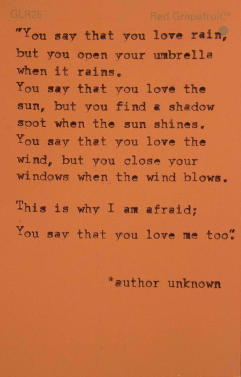 I'm afraidUmbrellas, I'M Afraid, Food For Thoughts, Random Quotes, Quotes Blog, Menu, Grateful Inspiration, Things, Quotes Addict