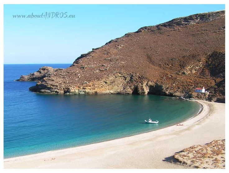 Achla beach, ANDROS island, Greece