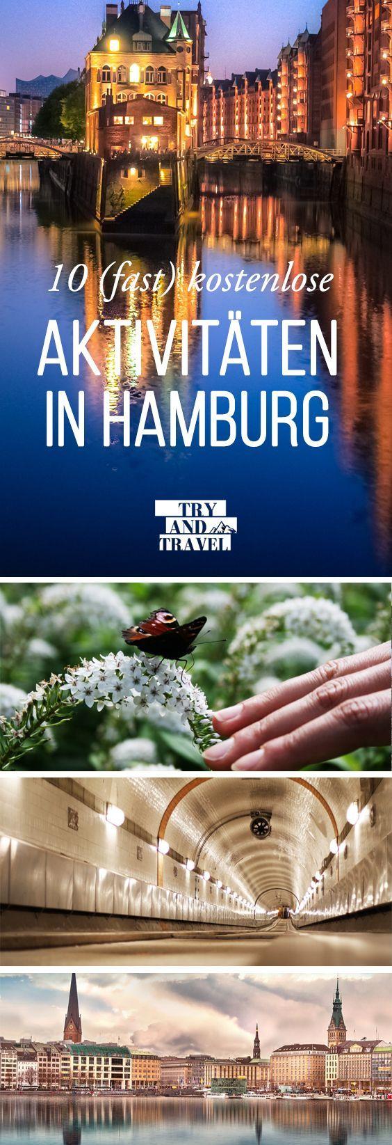 10 (fast) kostenlose Aktivitäten in Hamburg