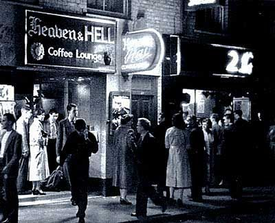 Heaven and Hell: London coffee bar next to skiffle club 2is