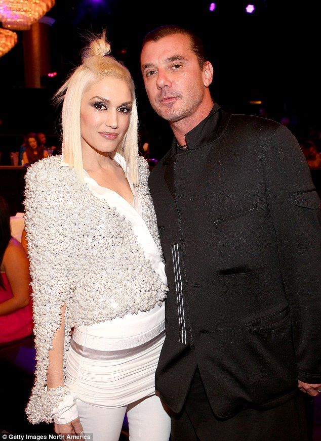 Ex files: Gwen and Gavin (pictured December) were married 13 years when they called it quits in August