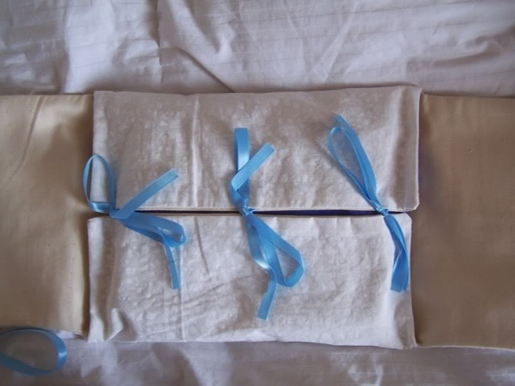 Reusable fabric giftwrap, made by Craftsterer lovething