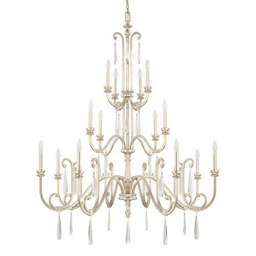 Capital Lighting Fixture Company Cambridge Winter Gold Sixteen Light Chandelier On SALE