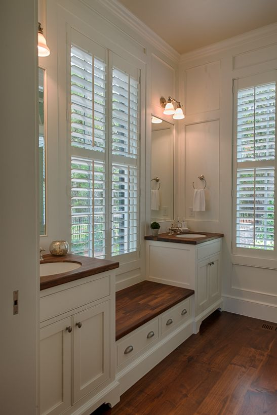 Guest Bath Featuring The Boston Functional Double Light Design By Coastline Design Works Llc