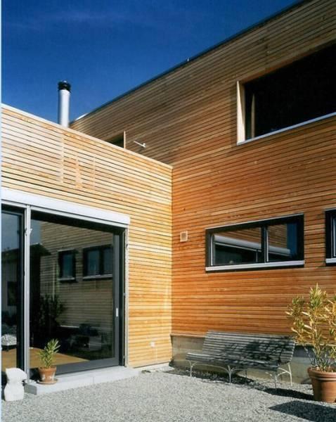 holzfassaden moderne h user pinterest. Black Bedroom Furniture Sets. Home Design Ideas