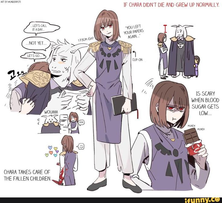 Chara would be a terrifying, but great ruler