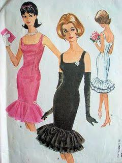 60s dresses via Zho Zho's Textile Adventures