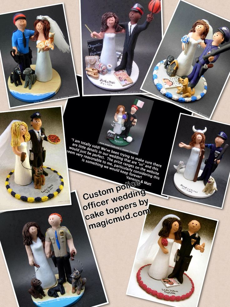 Policemen wedding cake toppers by www.magicmud.com 1 800 231 9814 magicmud@magicmud... blog.magicmud.com twitter.com/... $235 #police #policeman #policeofficer #cop #uniformwedding #wedding #cake #toppers #custom #personalized #Groom #bride #anniversary #birthday #weddingcaketoppers #caketoppers #figurine #gift http://custom-wedding-cake-toppers.tumblr.com/ http://instagram.com/weddingcaketoppers https://www.facebook.com/PersonalizedWeddingCakeToppers https://twitter.com/caketoppers
