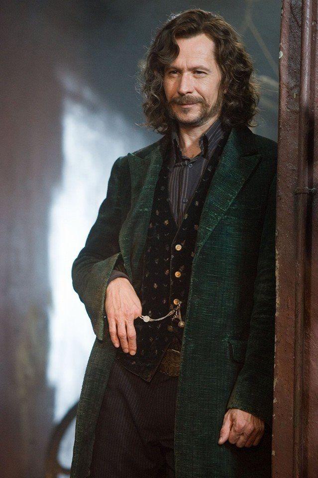 My favorite HP character Sirius Black Pureblood. Played by Gary Oldman