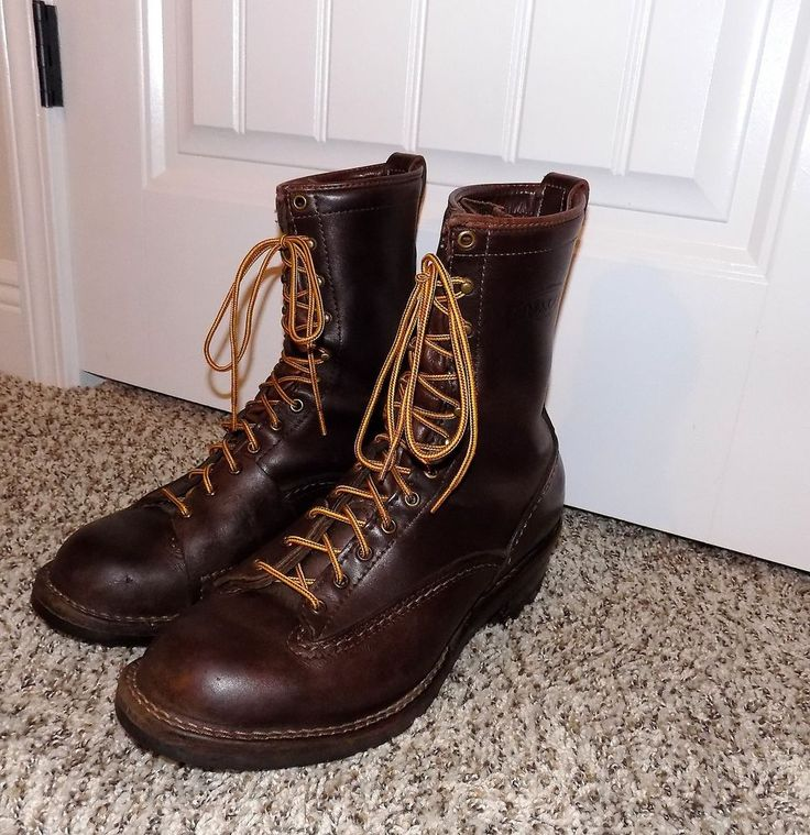$480 WESCOE HIGHLINER LINEMAN WORK MENS STEEL TOE BOOTS 11 #Wescoe #WorkSafety