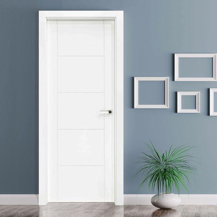 Vancouver White Composite Doorset with 110mm Broad Frame. #whitedoor #enduradoor #directdoors