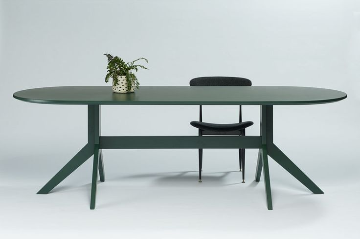 finnegan eliptical dining table - Grazia and Co