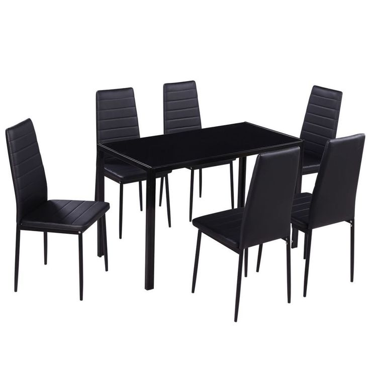 Best 25 modern dining sets ideas on pinterest mid for Dining room table 6 person