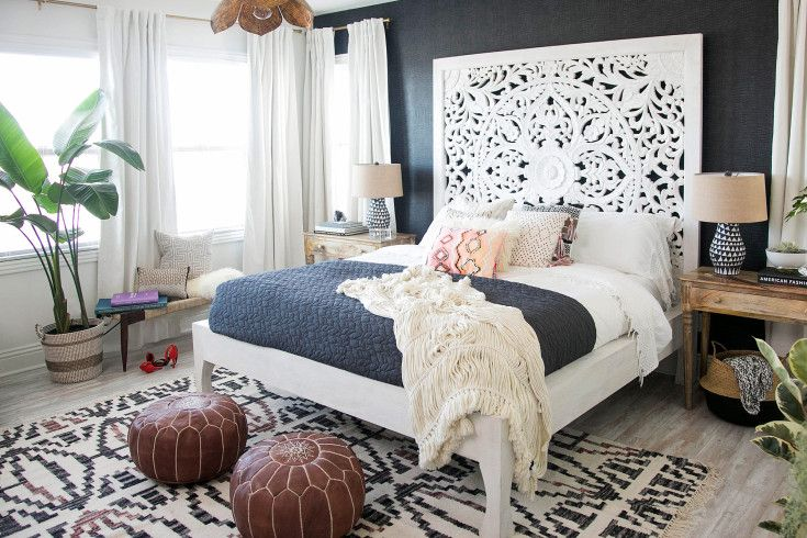 Before and After: Audrina Patridge's Boho-Chic Bedroom Makeover (That She Did in…