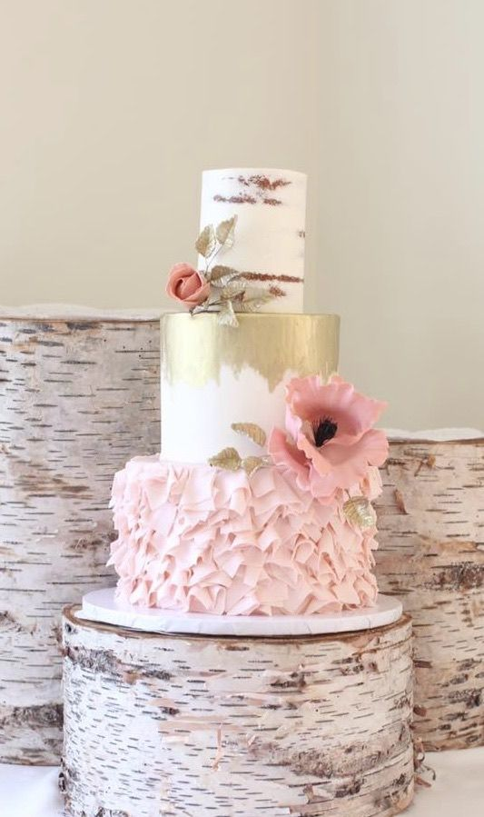 Featured Cake: Starbird Bakehouse; www.starbirdbakehouse.com/; Wedding cake idea.
