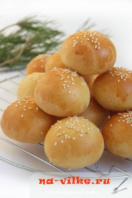 Булочки для фуршета с картофельной и творожной начинками